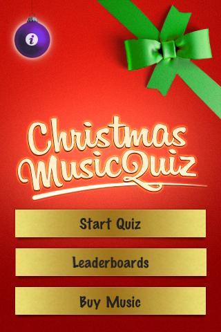 Screenshot Christmas Music Quiz